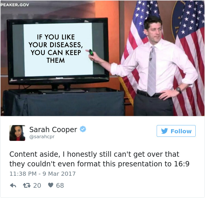 Paul Ryan's Healthcare Presentation