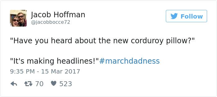 #marchdadness