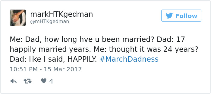 #marchdadness