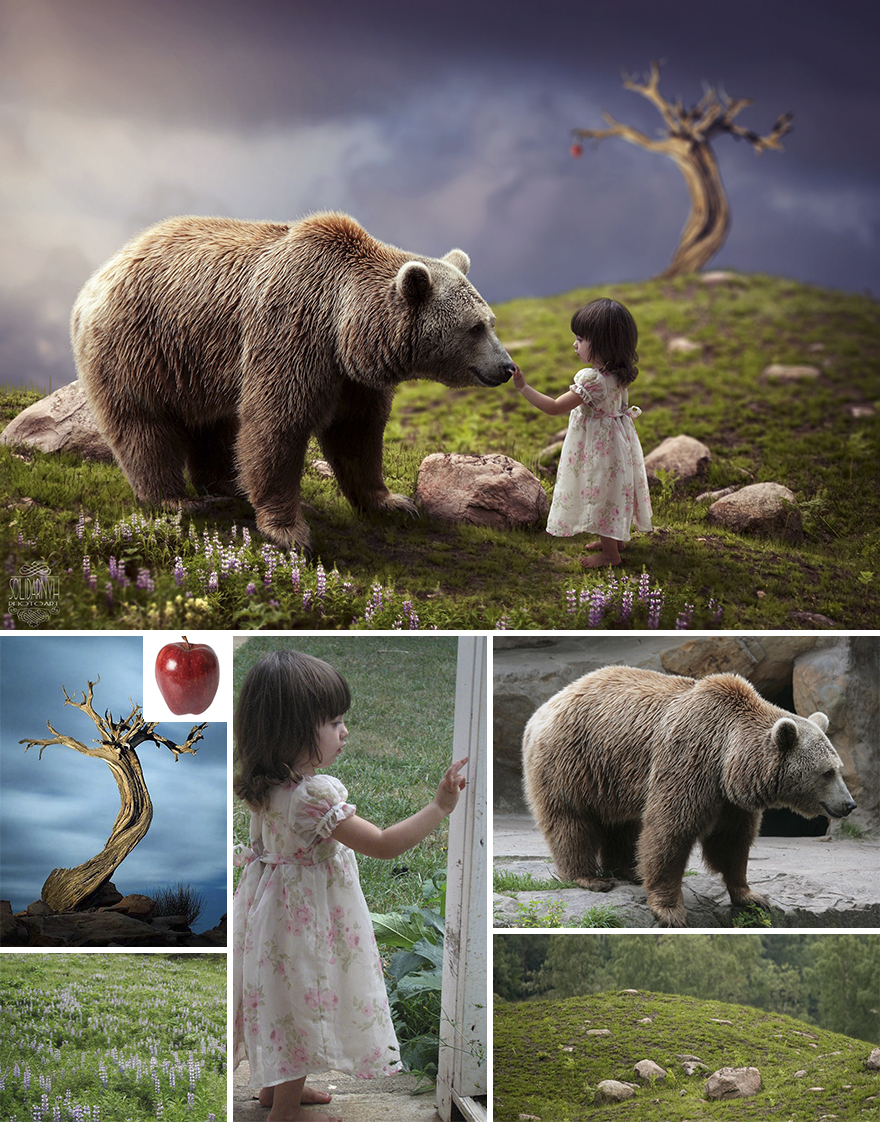 Amazing What This Artist Does With Photoshop
