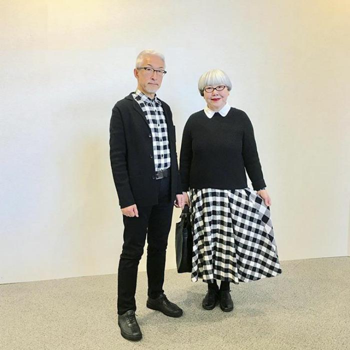 Couple Married For 37 Years Always Dress In Matching Outfits #3