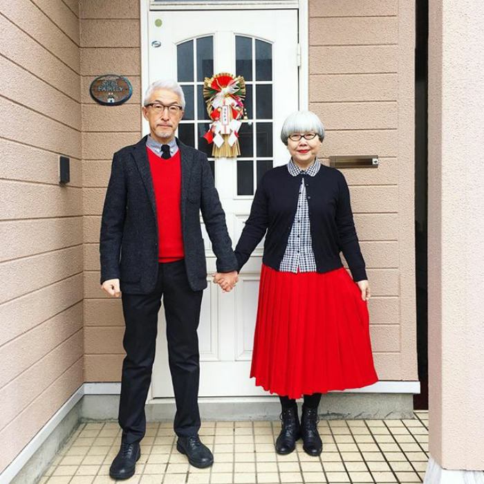 Couple Married For 37 Years Always Dress In Matching Outfits #1