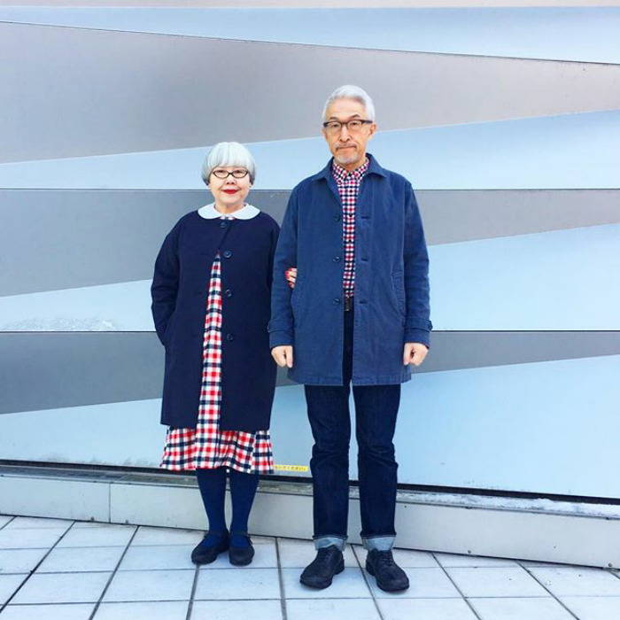 15899a8f5f Trending] This Japanese Couple Married For 37 Years Always Dress In ...