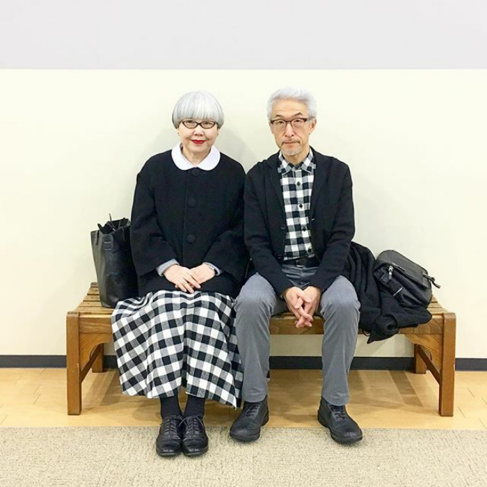 Couple Married For 37 Years Always Dress In Matching Outfits #7