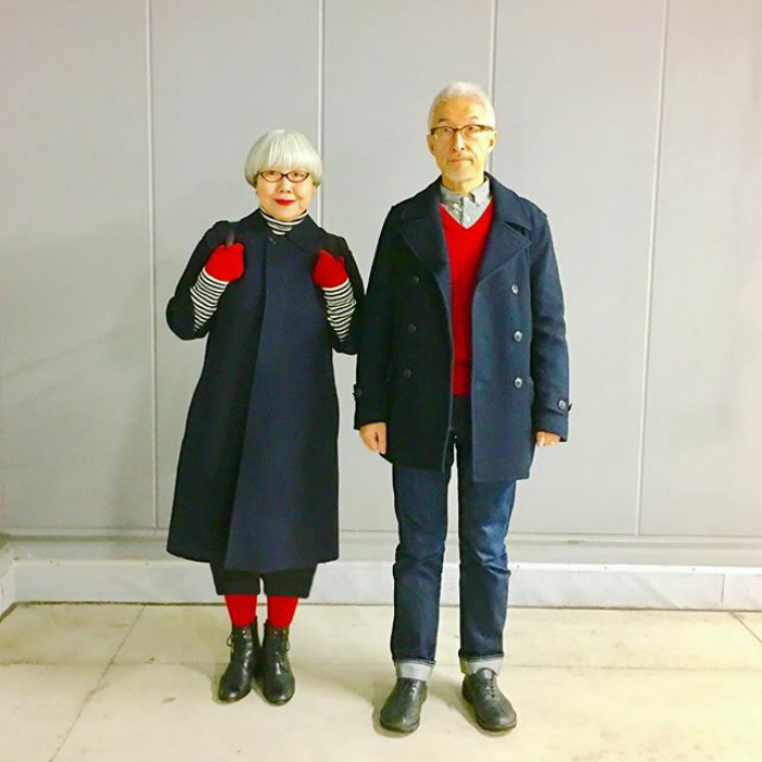 this couple married for 37 years always dress in matching