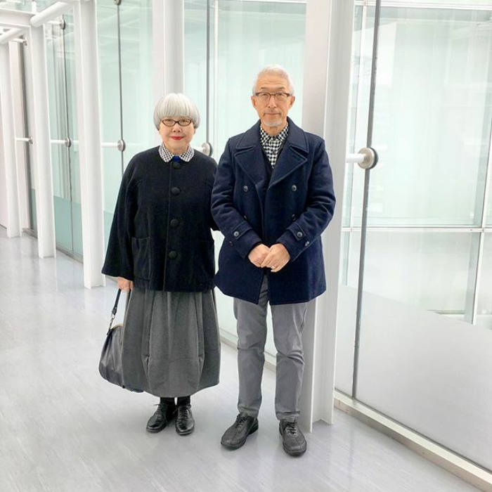 Couple Married For 37 Years Always Dress In Matching Outfits #9