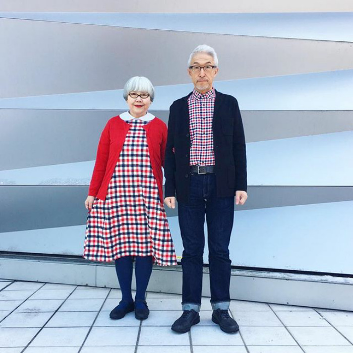 Couple Married For 37 Years Always Dress In Matching Outfits #5