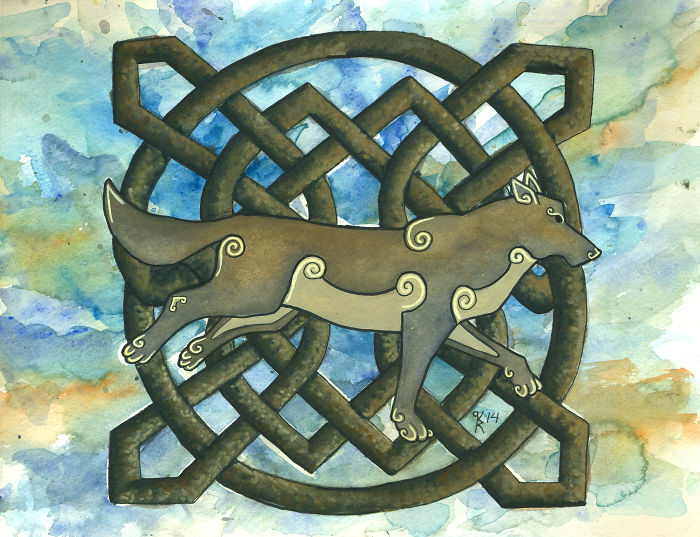 Artwork Inspired By The  Animals In Celtic Mythology