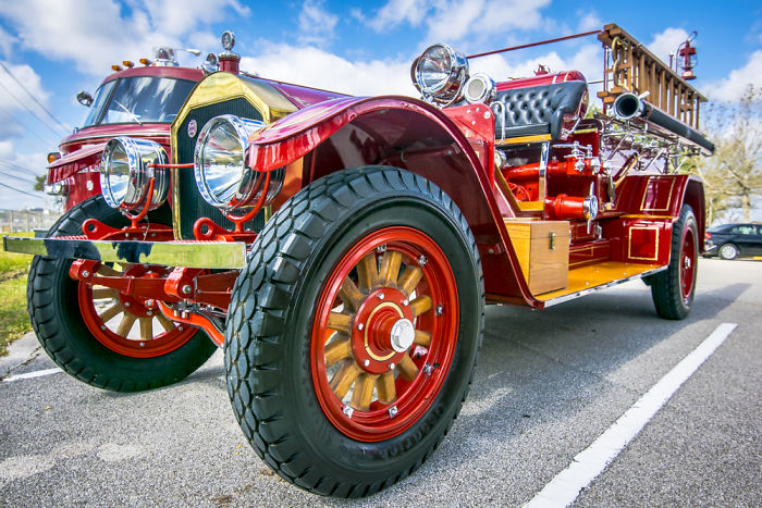 I Photographed Fire Trucks To Show How Cool They Were