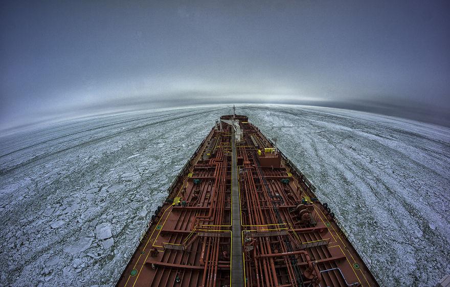 Primorsk, Russia, The Baltic Sea