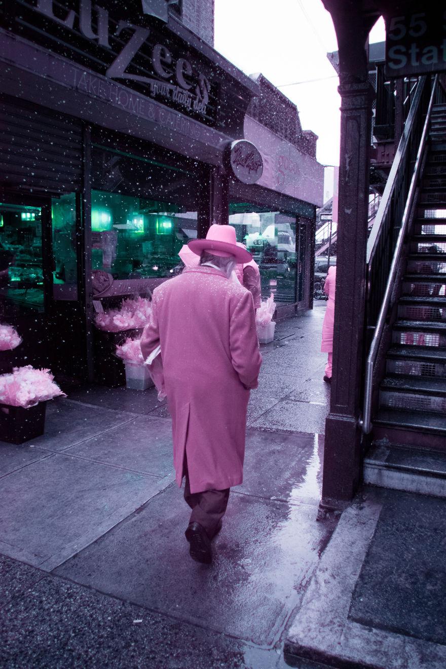 A Recent Infrared Photo Series. Nyc X Ir