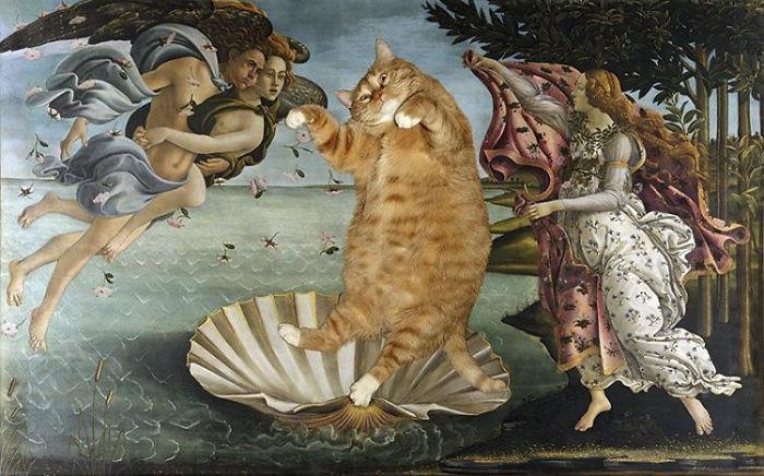 Sandro Botticelli, The Birth Of Cat