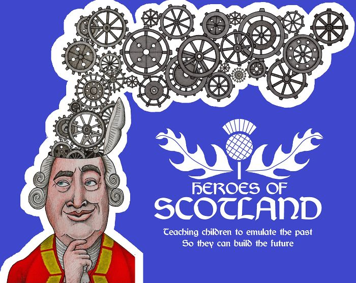 Scottish Illustrator Wants To Teach Children About Heroes Of Scotland And Is Looking For Suggestions