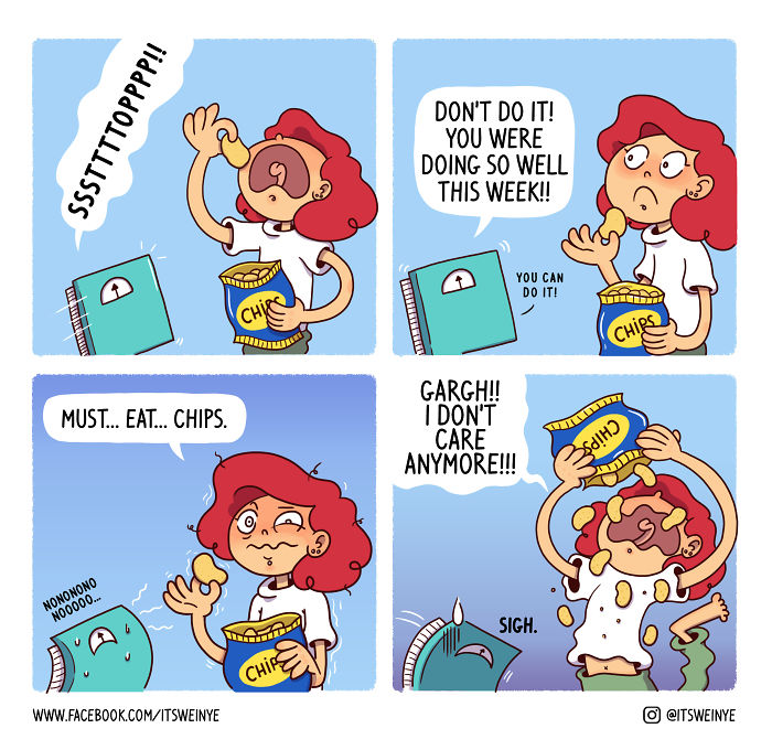 "Hilariously Relatable Comics By Malaysian Redhead Artist, ""it's Weinye"""
