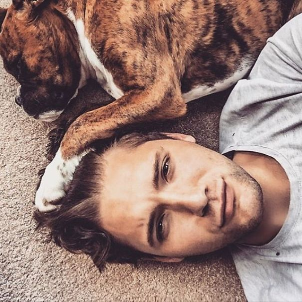 """""""hot Dudes With Dogs"""" Instagram Is The Ultimate Internet Eye Candy"""