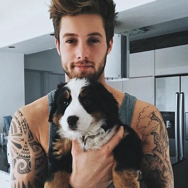 """hot Dudes With Dogs"" Instagram Is The Ultimate Internet Eye Candy"