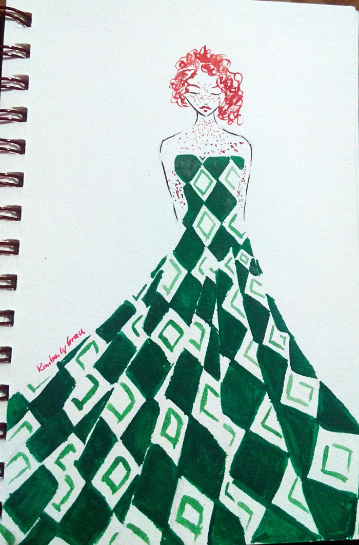 No. 10 Green Diamonds