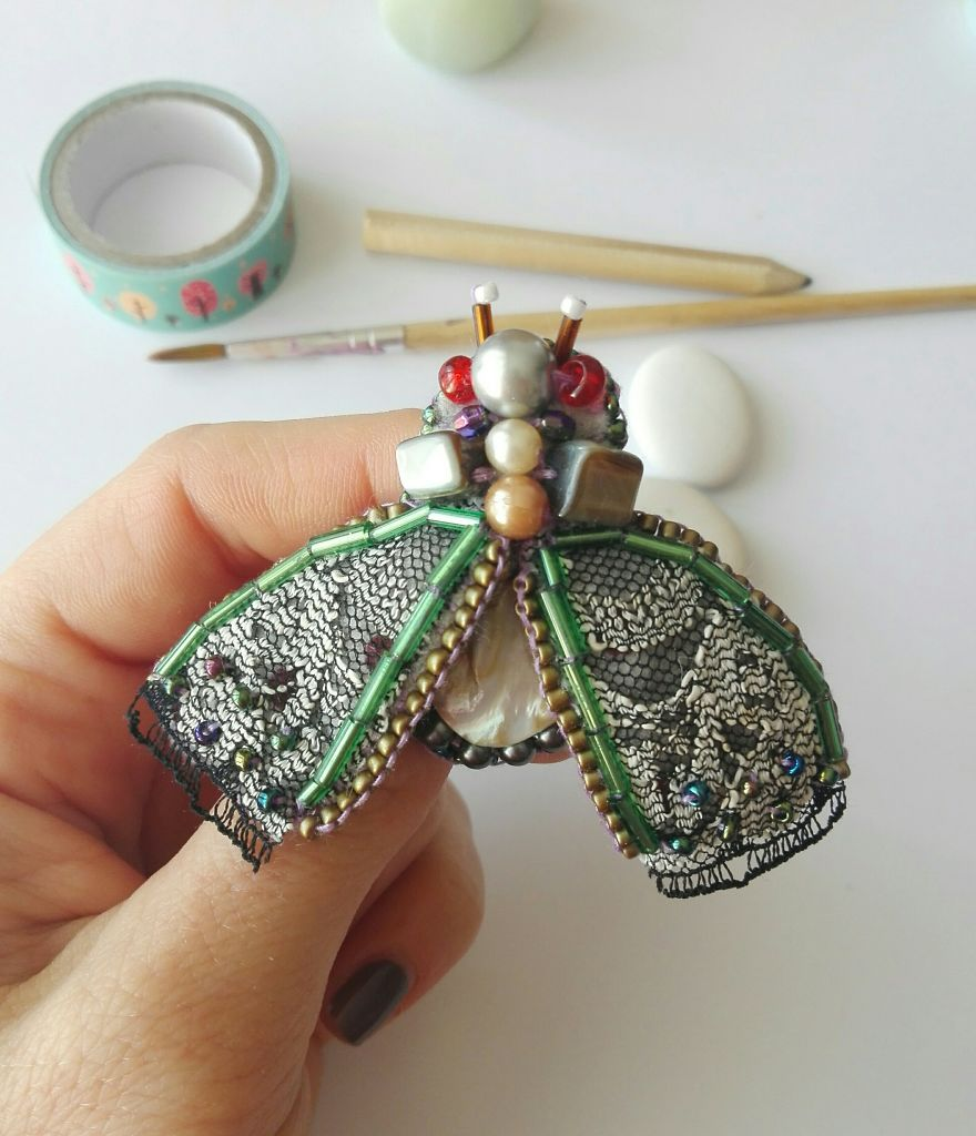 Urban Couture Insect Brooch