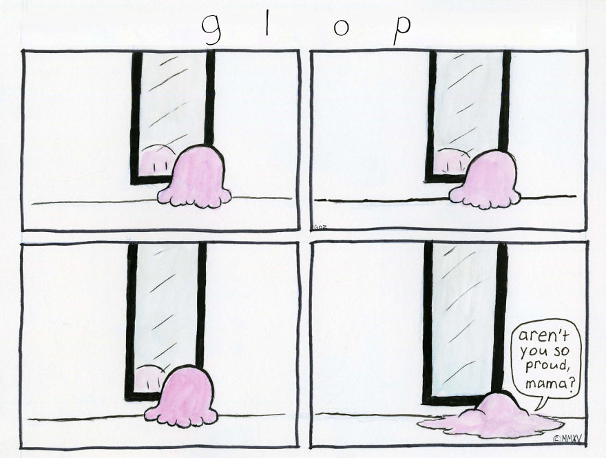 I Created A Comic Strip To Turn My Depressive Pain Into Laughs