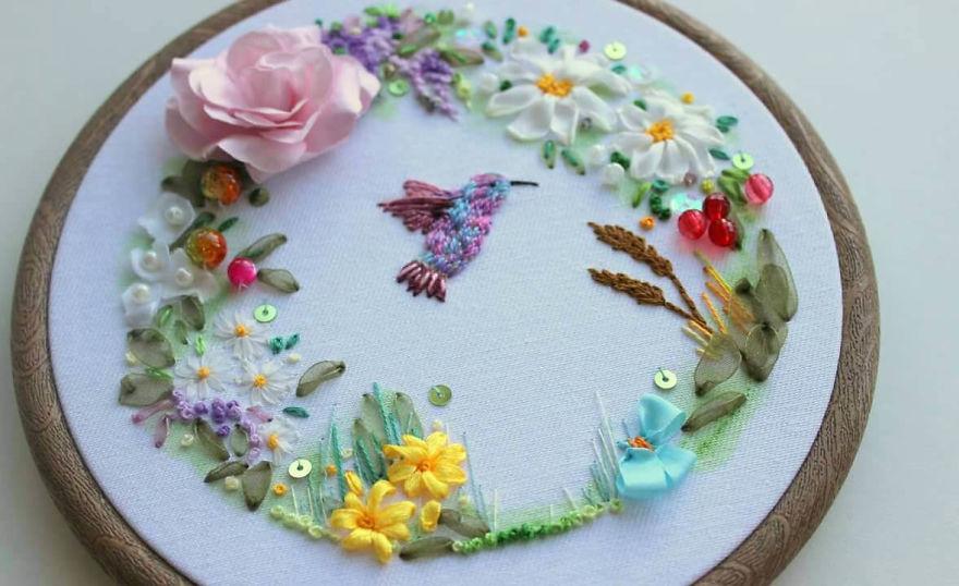 I Create Textile Art