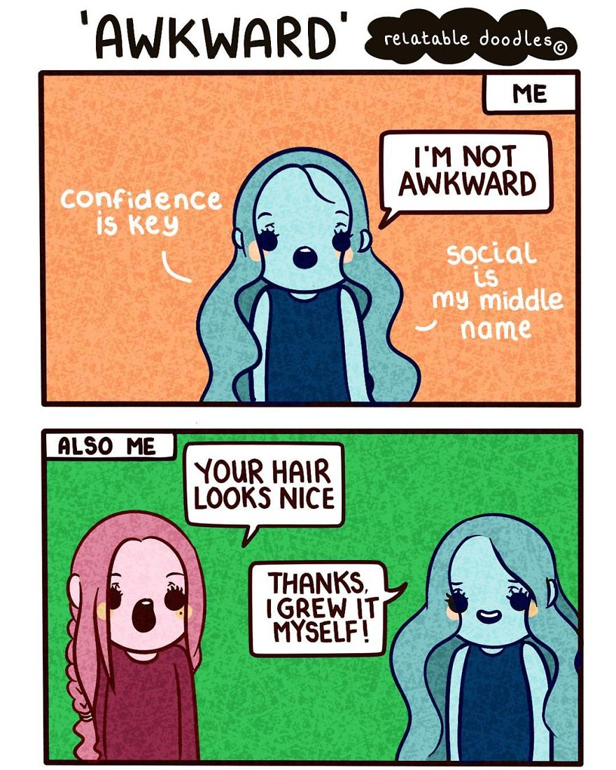 I Draw Comics That People Can Relate To