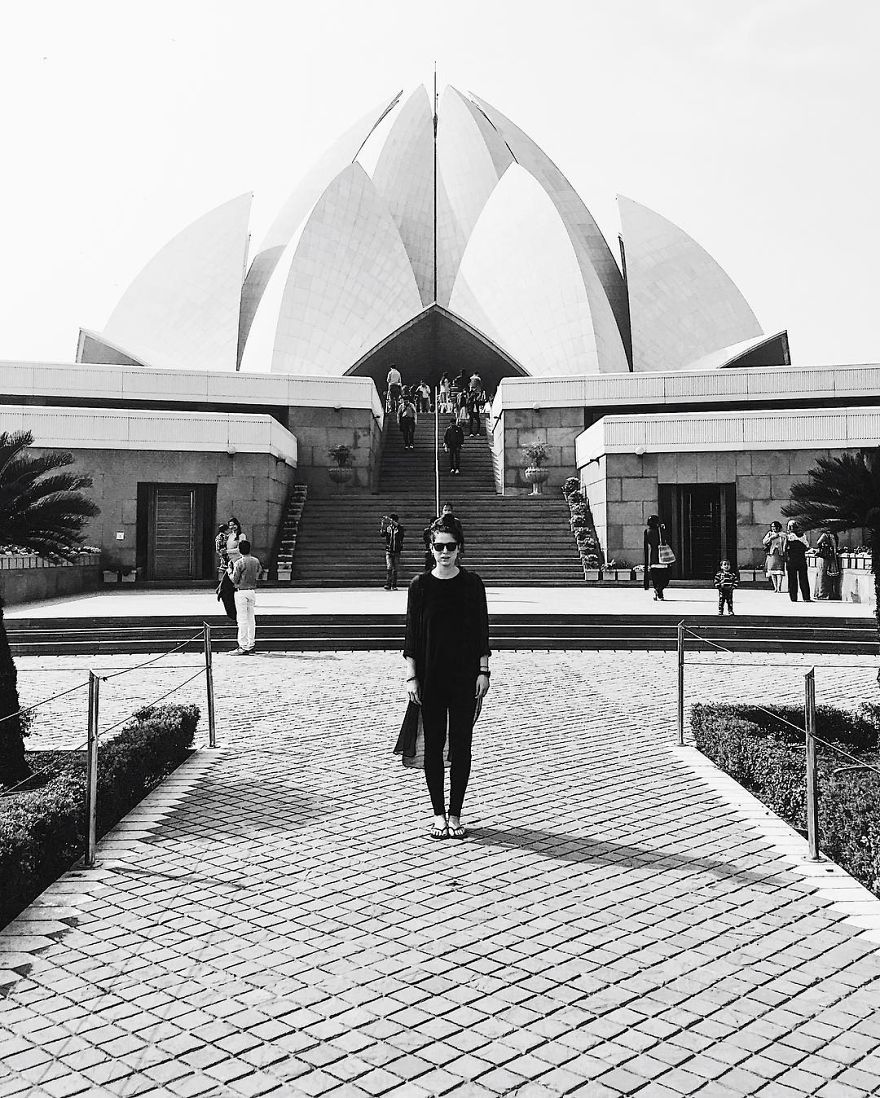 Point 80 // Lotus Temple // India