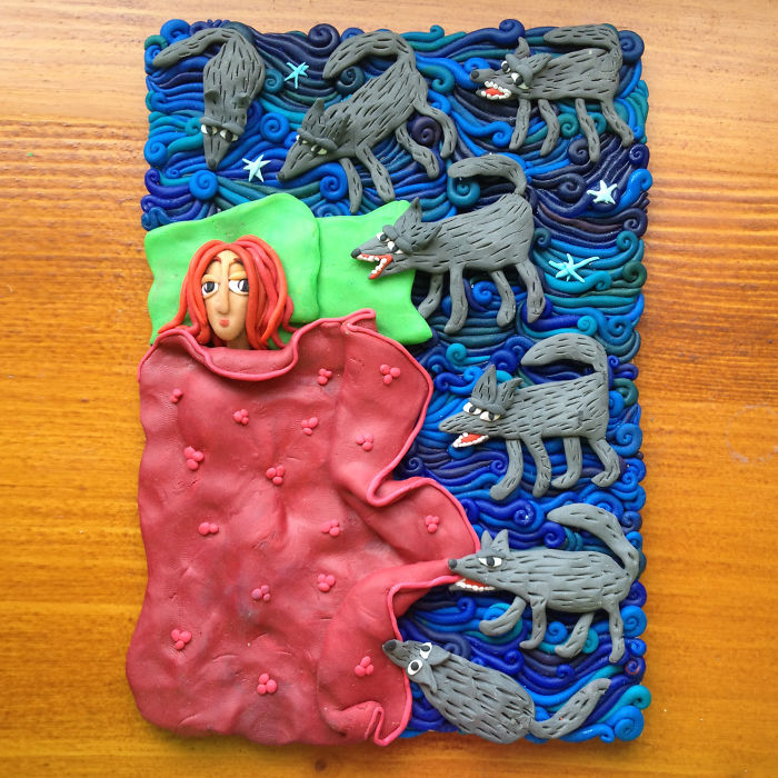 I Make Pictures Of Polymer Clay