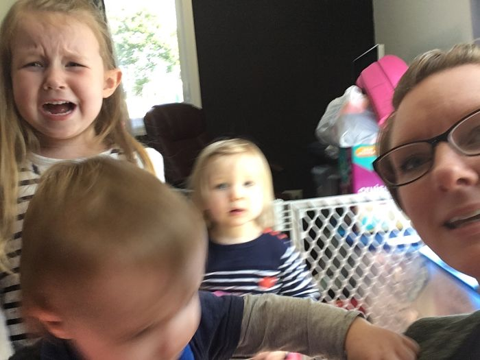 Can't Get A Good Selfie With The Kids
