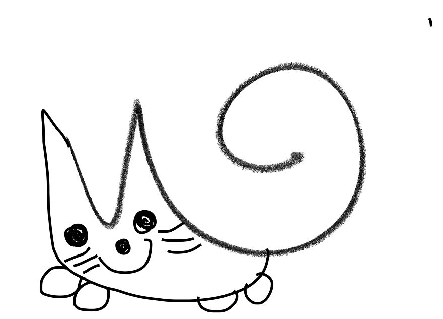 Here Is A Cat!