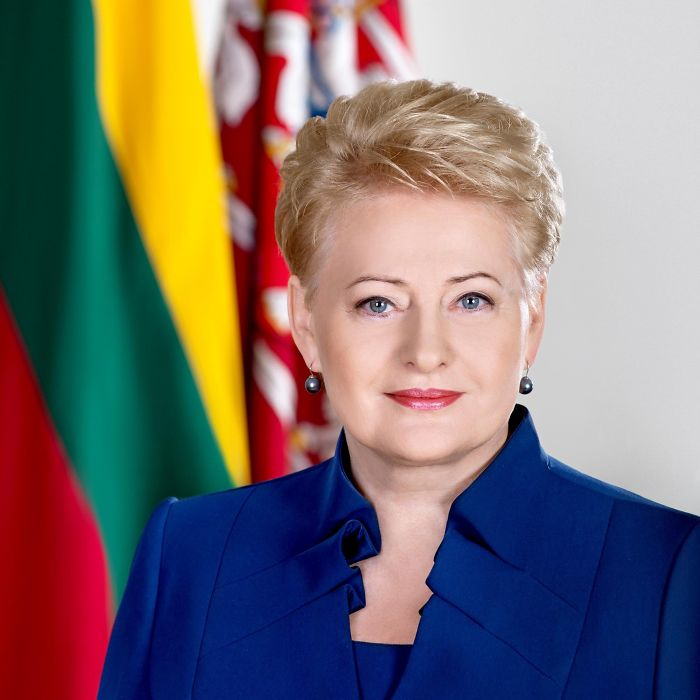 Dalia Grybauskaitė – Dalia Grybauskaitė Is The President Of Lithuania, Inaugurated On 12 July 2009 And Re-elected In May 2014. She Is The Country's First Female President And The First President Of Lithuania To Be Reelected For A Second Consecutive Term.
