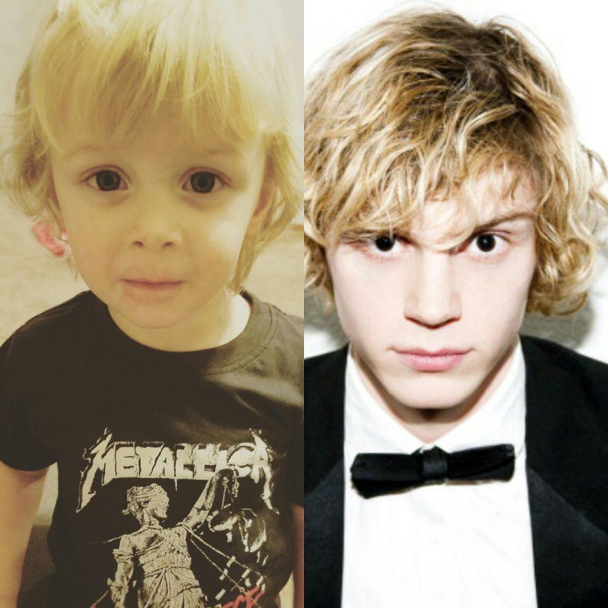 My Son Looks Like Evan Peters