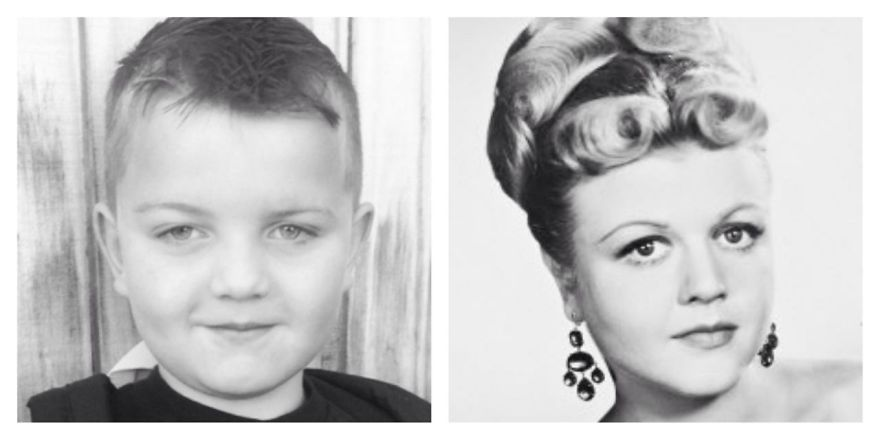 My Son Looks Like A Young Angela Lansbury.