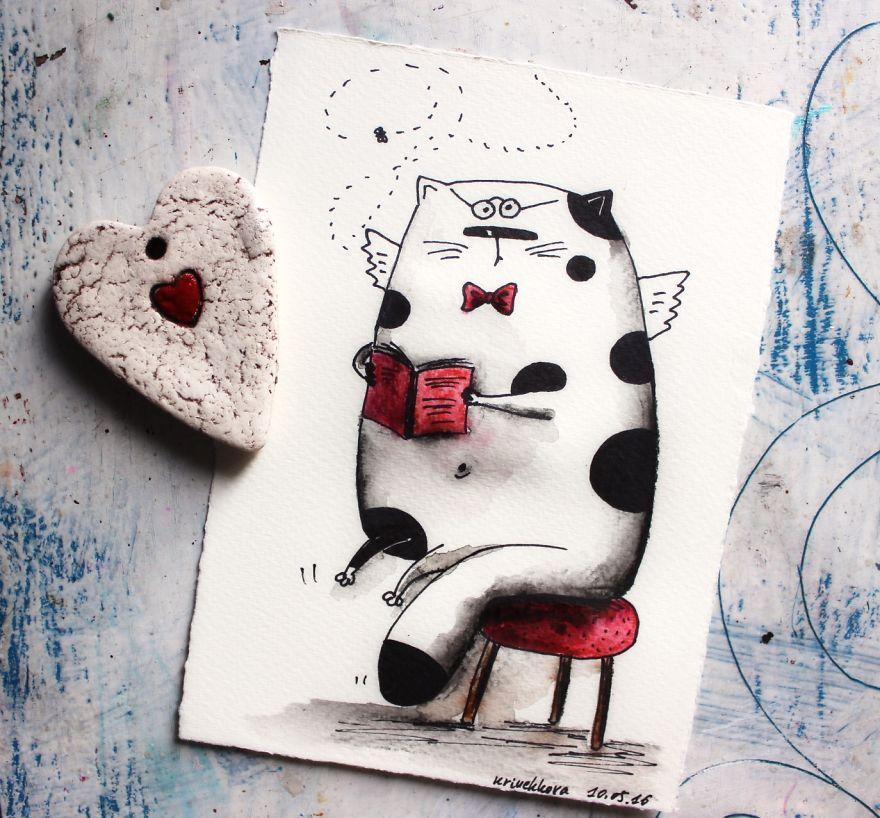I Make Funny Cat Portraits