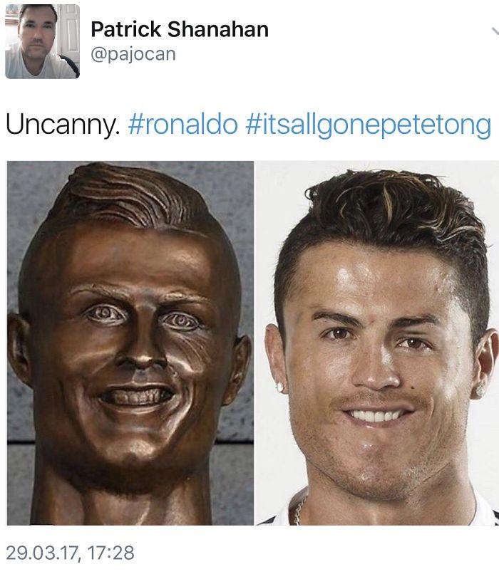 Ronaldo Decide To Adapt