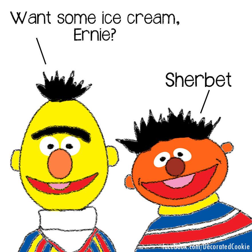 Ice Cream Vs. Sherbet