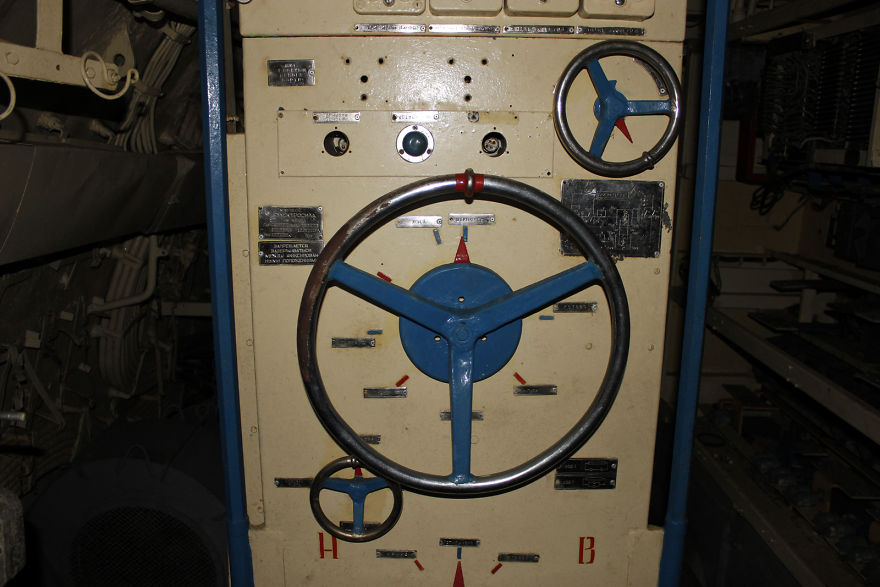 Inside Old Soviet Submarine In Amsterdam
