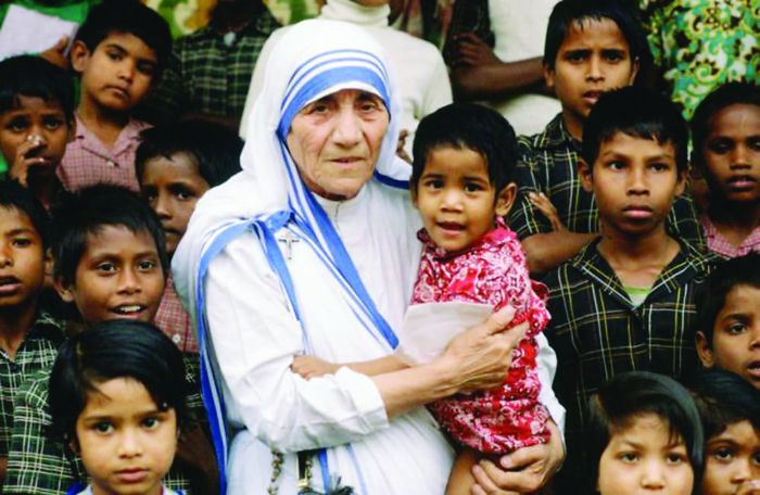 Mother Teresa, Who Took Care Of The Less Fortunate(lepers, Terminally Ill People Who Everyone Thought Should Be Left To Die On The Streets, The Very Poor, Disabled, Orphans, Etc) No Matter What Others Though