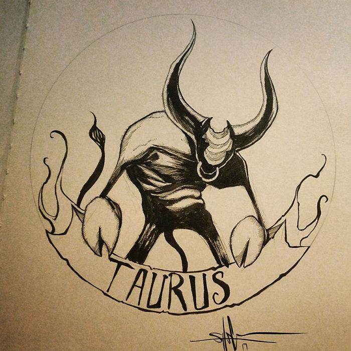 My Creepy Take On The Zodiac Signs