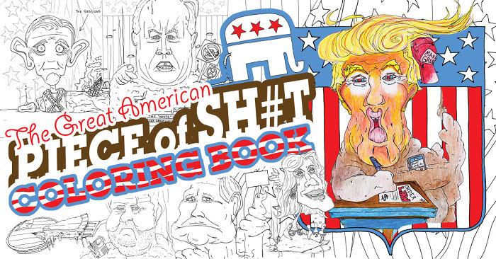 Color The Trump Admin As Lumps Of Poop!
