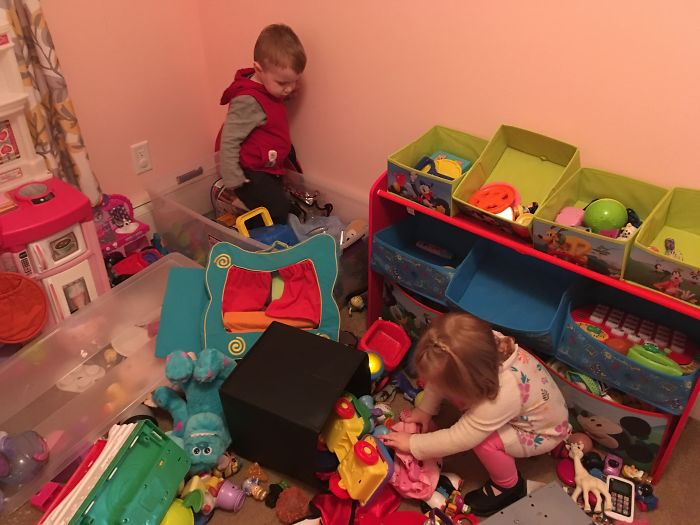 This Is Not What I Had In Mind When We Decided To Have A Playroom