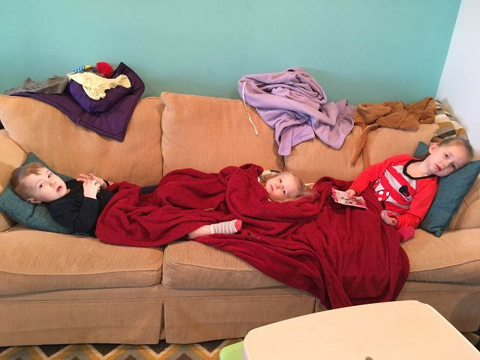 3 Sick Kids. Not Fun