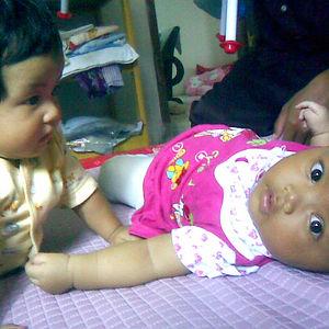 My Daughter First Met Her Cousin