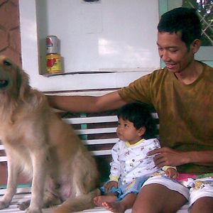 My Daughter First Met My Parents Dog