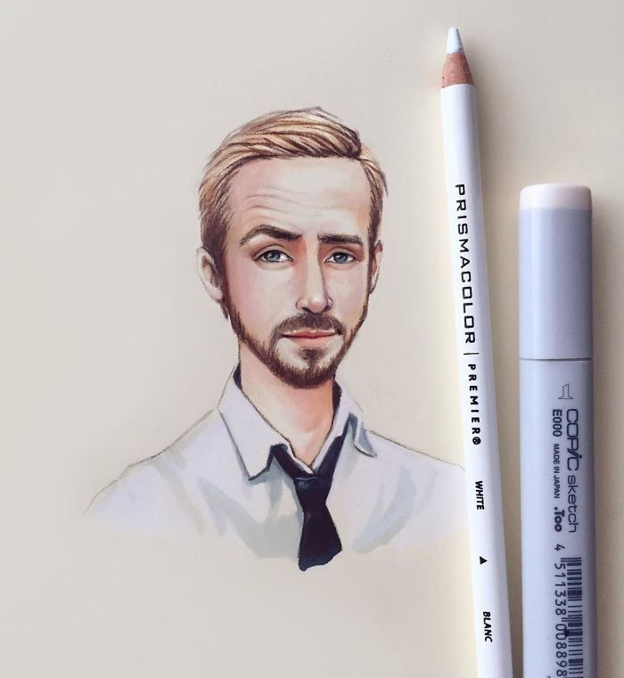 Trending Russian Artist Turns Celebrities Into Adorable Cartoon - Russian artist draws amazing cartoon versions of famous celebrities