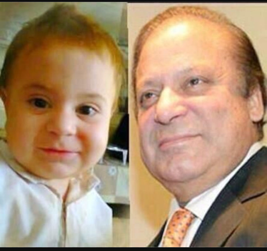 This Pakistani Child Completely Looks Like His Prime Minister . . !!!