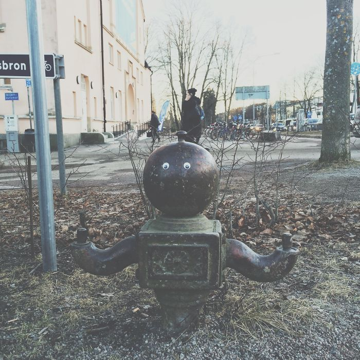 So I Glued Googly Eyes All Over Town
