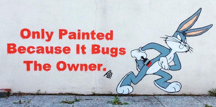 Street Art Is More Fun, If You Add A Pun