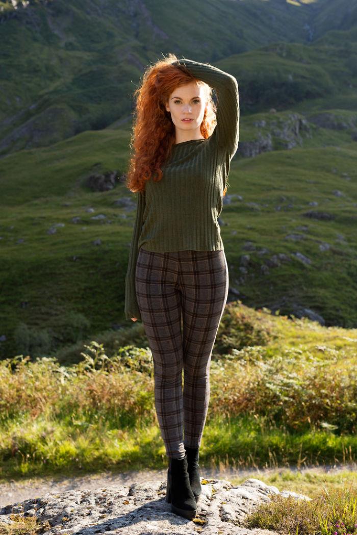 Kirstie de Glencoe, Escocia