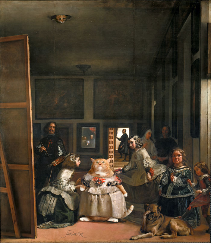 Diego Velazquez, Las Meowninas, Or Fashion Victim (feat. Ceiling Cat)