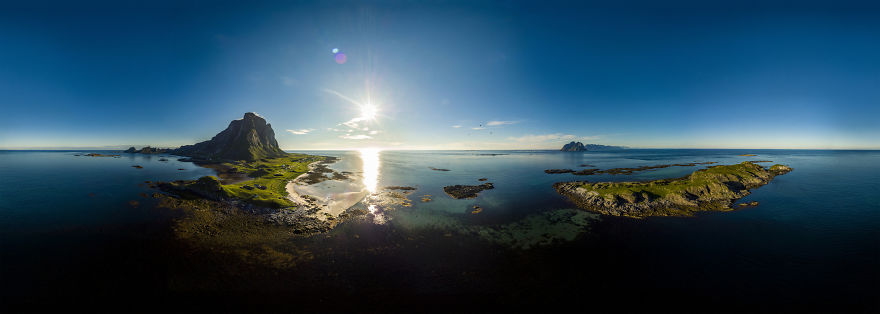 Nordland Beach On Veroey